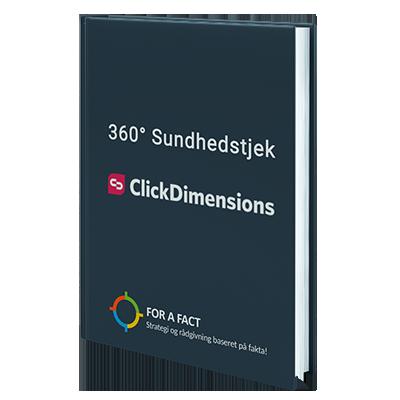 ClickDimensions book – 360 sundhedstjek