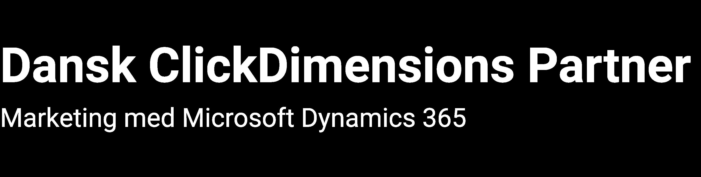 Dansk ClickDimensions Partner
